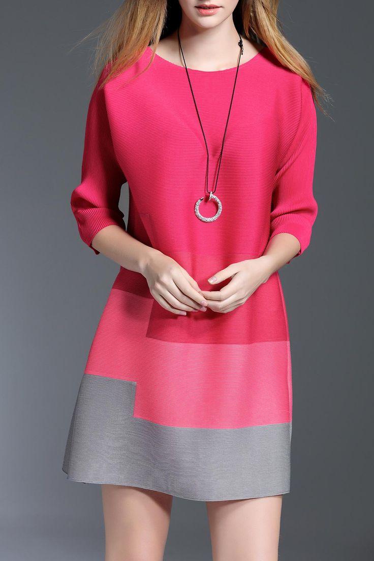 KK2 -  A Line Gradient Dress
