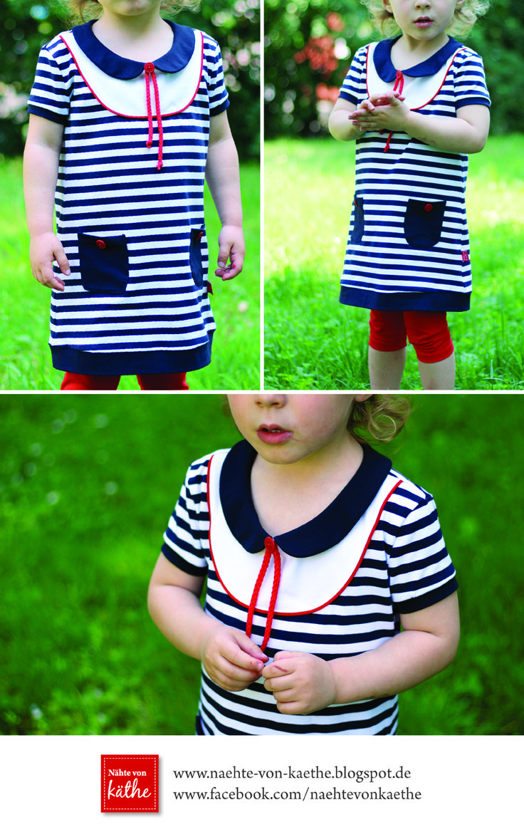 "Kleid & Shirt ""Mini-Mathilda"": http://www.kreativlaborberlin.de/schnittmuster/kleid-shirt-mini-mathilda-gr-92-164/"