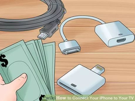 Image titled Connect Your iPhone to Your TV Step 1