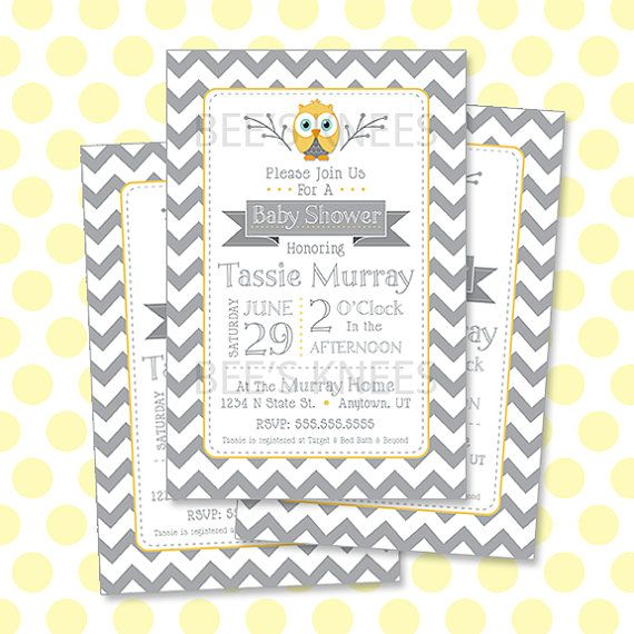 23 best images about baby shower on pinterest   owl baby showers, Baby shower invitations