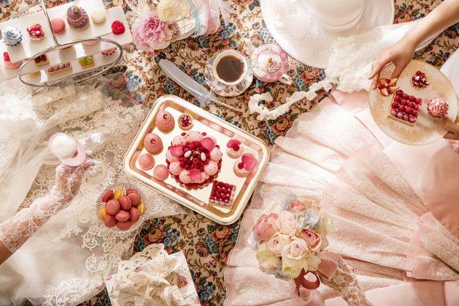 マリー・アントワネットが実際に好んだと言われるケーキを忠実に再現