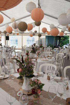décoraiton salle lampions vrai mariage indie en Alsace Manon Badermann photographie sur Trendy Wedding