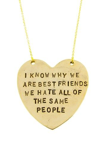 For your BFF