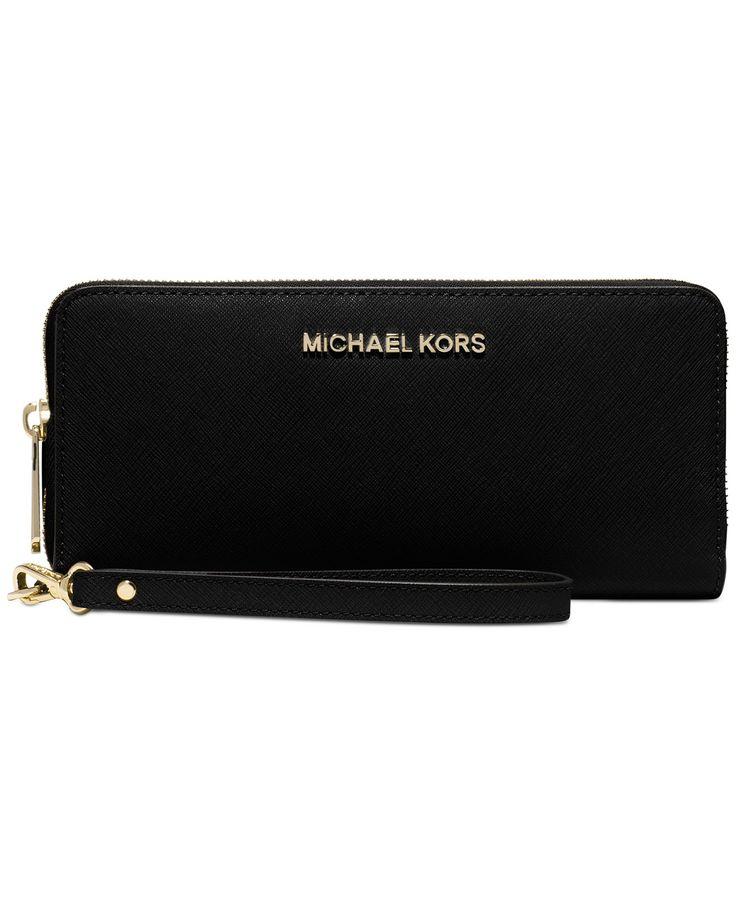 MICHAEL Michael Kors Jet Set Travel Continental Wallet - MICHAEL Michael Kors - Handbags & Accessories - Macy's