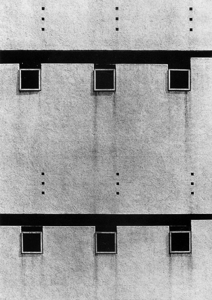 """Luigi Moretti's """"Complesso Residenziale-Commerciale"""""""