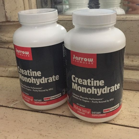 2- Sealed Creatine Monohydrate- VEGAN - PreWorkout Brand new! Both are sealed! Costs $30 each! Jarrow Formulas Accessories