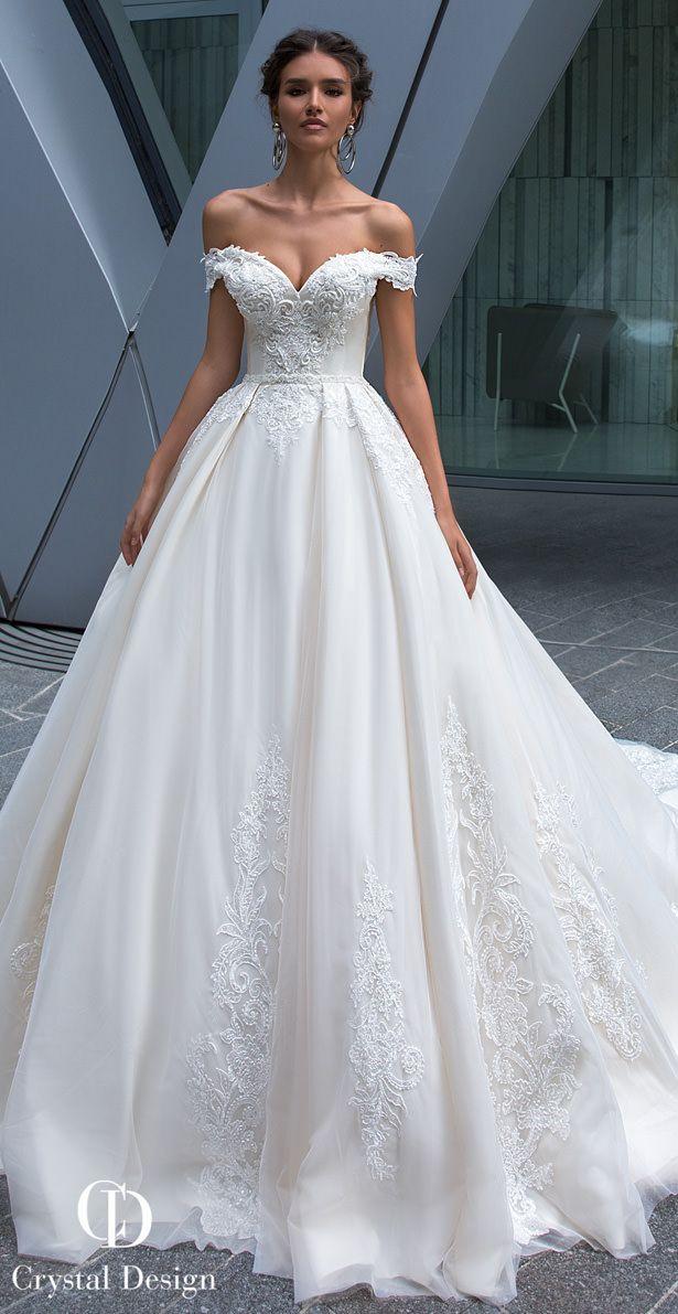 f9129d85c79d Crystal Designs Wedding Dresses 2019 | Dresses - A-Line (Rochii A ...