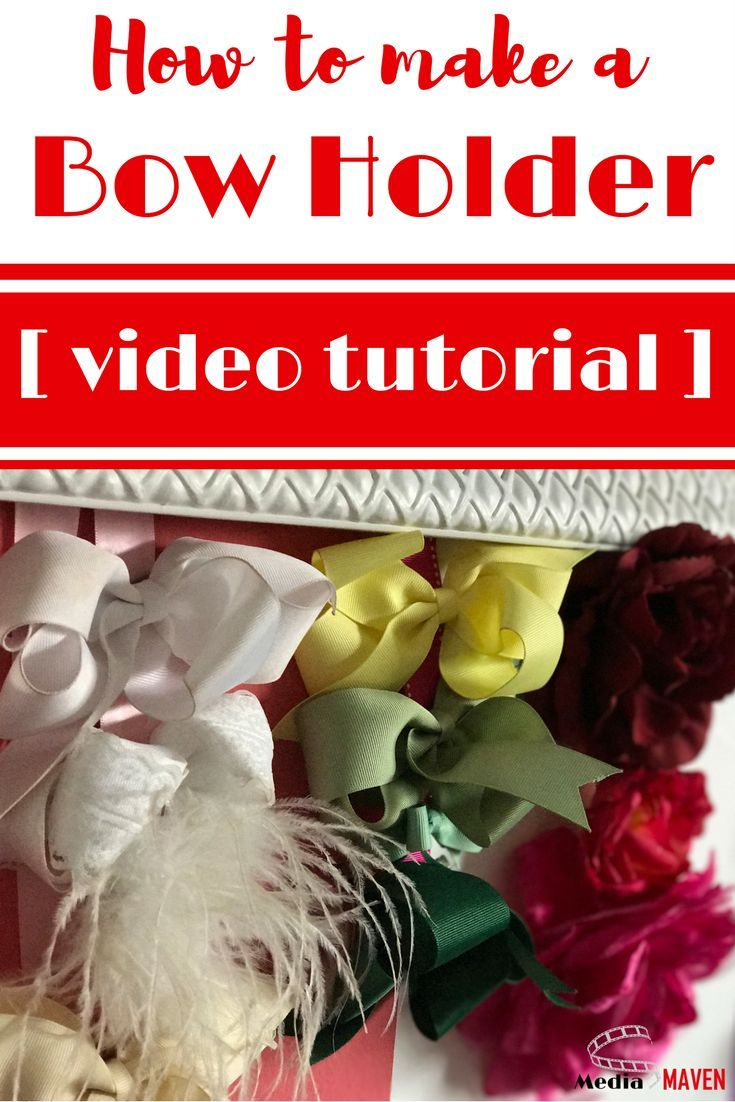 Cheer bow holder for cheer bows and hair bows cheer bow hanger - How To Make A Cheer Bow Holder Video Tutorial Cheer Bow Holderscheer Bowsa