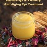 This is Jan's recipe for a homemade anti-aging eye treatment that you can apply on laugh lines around your eyes You can also apply it to wrinkles on other parts of your face. Jan uses it on her full face, neck and hands. The recipe uses Rosehip Seed Oil...