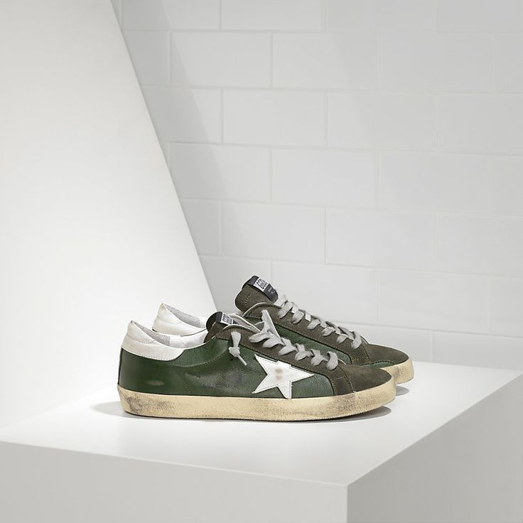 Sneakers SUPER STAR in Pelle e Stella in Pelle - Man