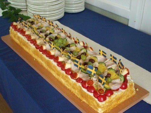 Chicken Sandwich Cake from Ena Tartor's My Cakes