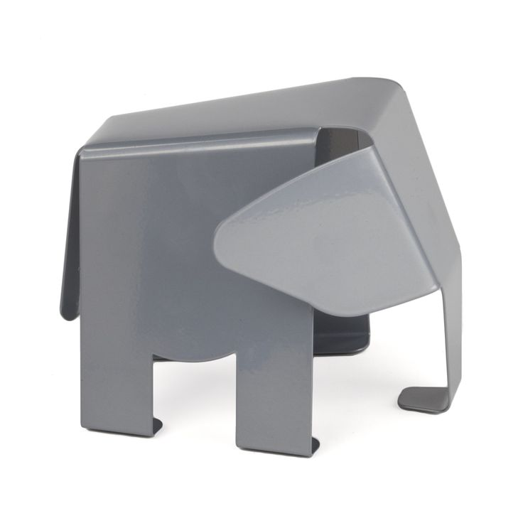 Features:  -Stamped sheet metal epoxy coating.  -One bookend included.  Product Type: -Office.  Style: -Contemporary.  Subject: -Wild animals.  Theme: -Animals.  Life Stage: -Adult.  Color: -Gray.  Pr