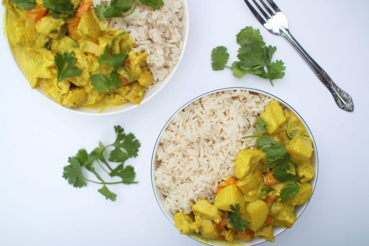 Easy Chicken Curry with Homemade Curry Paste