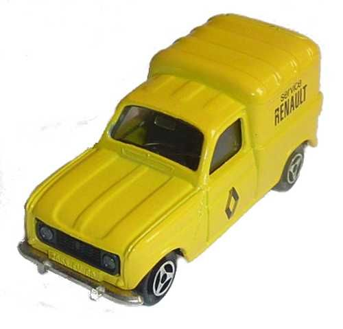 Majorette - Renault F4 camionnette Service Renault