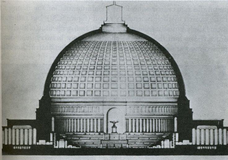 Great Hall For N S Axis Albert Speer 1938