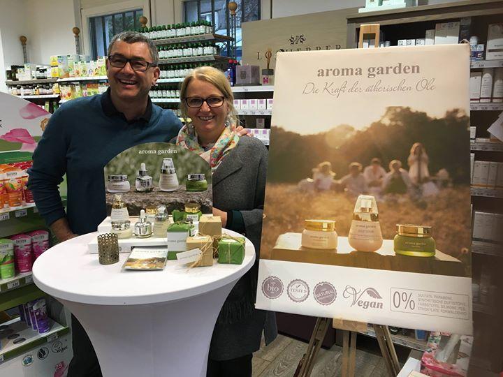 Familie Weiboltshamer vom Reformhaus Weiboltshamer in 1130 Wien haben aroma garden ins Sortiment aufgenommen. Willkommen in der aroma garden Familie!