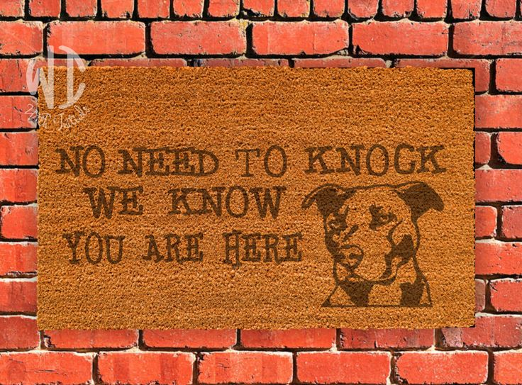 """Welcome Mat, Laser Engraved  Door Mat, 18"""" x 30"""", Personalized mat, Rubberized backing,  Custom Door Mat, dog lover by WithInitials on Etsy https://www.etsy.com/listing/360412272/welcome-mat-laser-engraved-door-mat-18-x"""