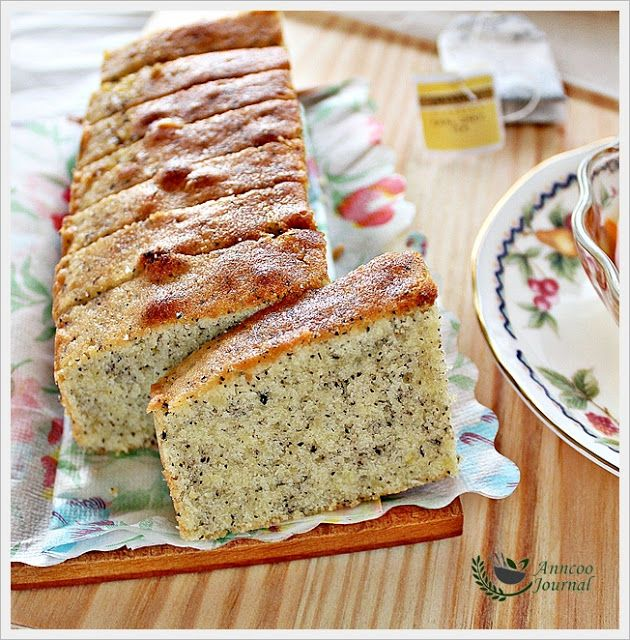 Earl Grey Tea Cake. A great memory of mine with my dad when i was little!
