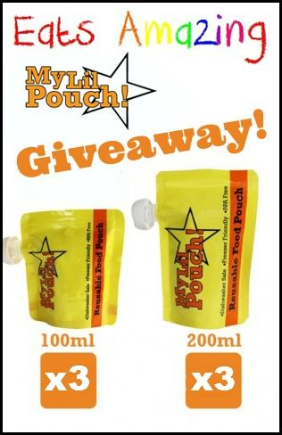 Eats Amazing - My Lil Pouch UK Giveaway - enter now!