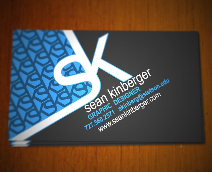 79 best business cards images on pinterest business cards carte sean kinberger business card by sean kinberger via creattica reheart Gallery