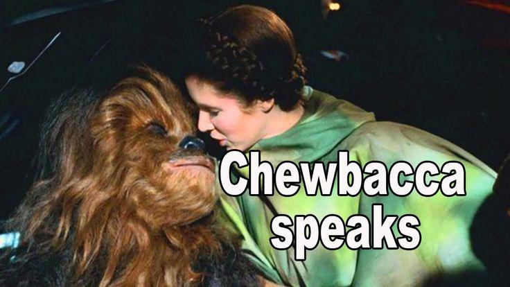 Chewbacca speaks in his own voice - chefhawk HD
