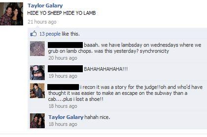 Taylor Galary Crime Posting Use of Social Media