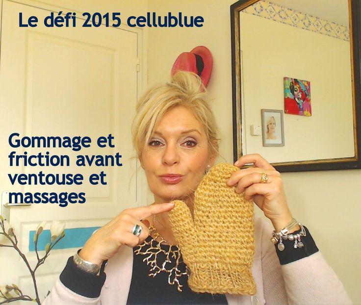 Le défi 2015 cellublue, le gant de crin et une boisson détoxifiante maison