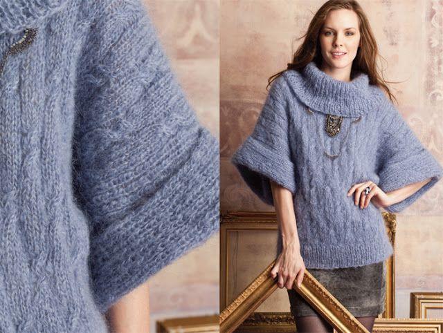 Modely z kolekce podzim-zima 2012/2013 Vogue pletení: háčkování pletení
