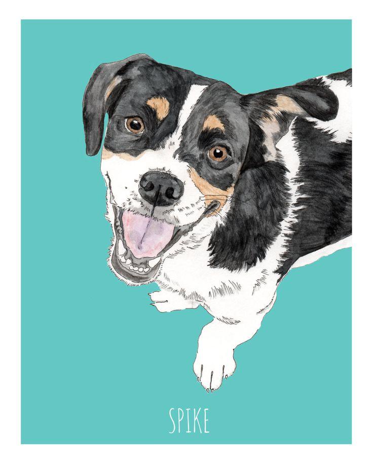 Un preferito personale dal mio negozio Etsy https://www.etsy.com/it/listing/463018499/ritratto-di-cane-personalizzato-regalo