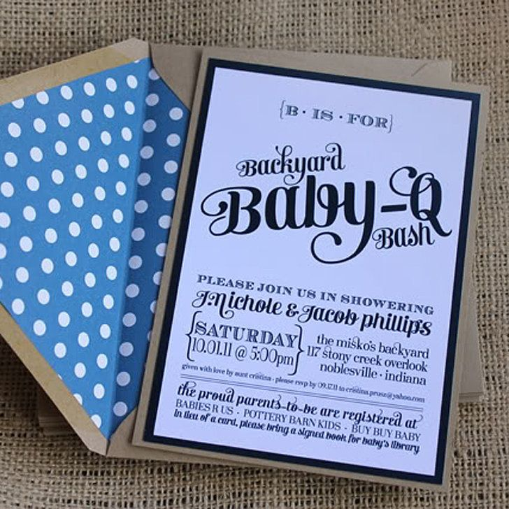 When To Register For Baby Shower Part - 36: Baby-Q Bash Puts A Fun Spin On The Traditional Shower