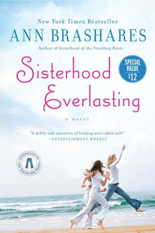 Sisterhood Everlasting... This is the 5th book to the Traveling Pants series... The friends 10 years later.