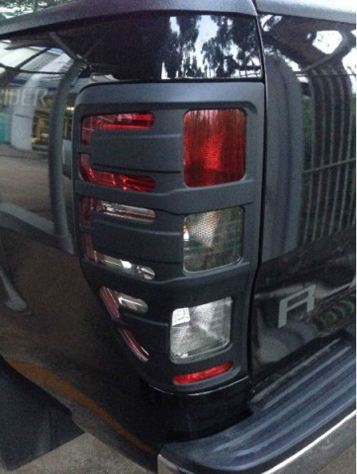 Matte black rear tail taillight light l& cover for ford ranger px wildtrak t6 & 19 best Ford ranger images on Pinterest | Ford trucks Ford raptor ... markmcfarlin.com