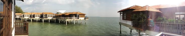 Overwater Bungalows at The Avillion in Port Dickson, Malaysia (Jan 2012)