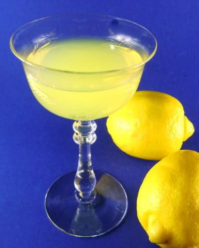 Giada's Limoncello recipe. (make candied lemons w/ vodka soaked lemon peels tossed in sugar, then dried)