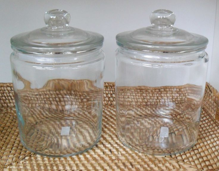 In Stock - Cookie Jars with Seal in Small, Medium and Large - Inside Out Home Boutique - Please check stock availability