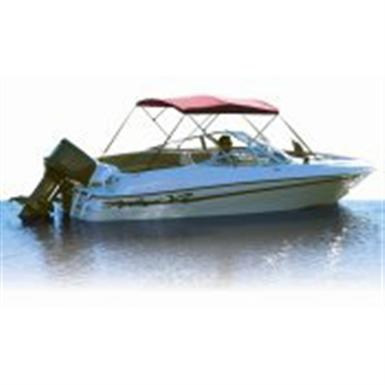 Attwood Bimini Top 54 High 8' Long 4 - Bow Frame Only