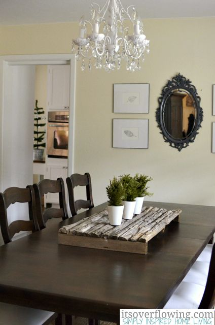 17 best images about casual centerpieces on pinterest for Casual dining room table centerpieces