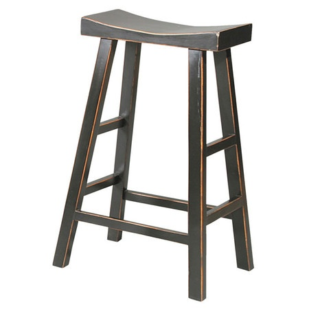 I Pinned This Crescent Counter Stool In Black From The