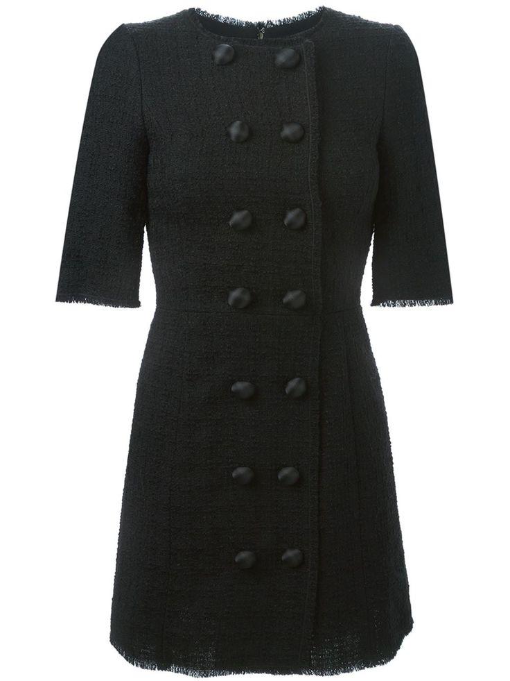 Dolce & Gabbana Твидовое Платье А-образного Кроя - Benesch - Farfetch.com