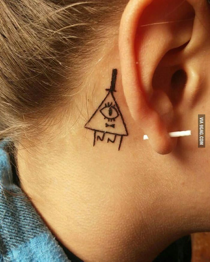 Bill tattoo, gravity falls, thanks for this great adventure!!!!