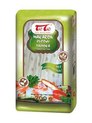 Makaron Ryżowy z Tapioką  • długie, cienkie wstążki • delikatny smak • doskonały do smażenia • dodatek do sałatek