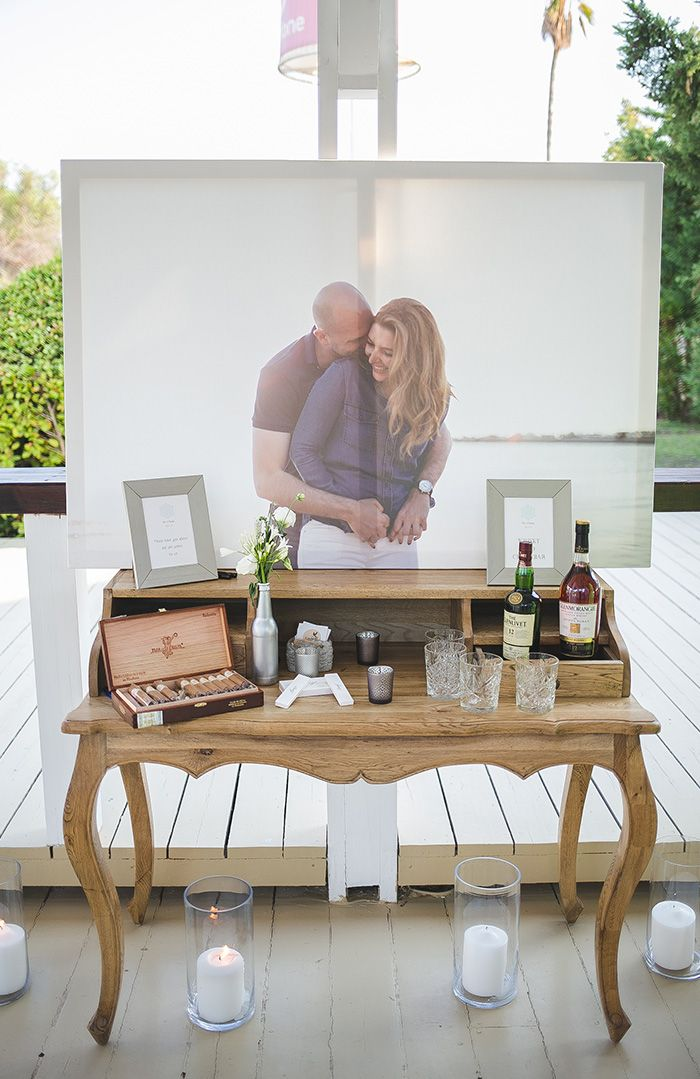 beachwedding, reception table