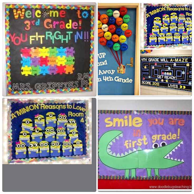 Welcome bulletin board Ideas / Ideias para painéis de boas-vindas  | Bilingual Education Activities