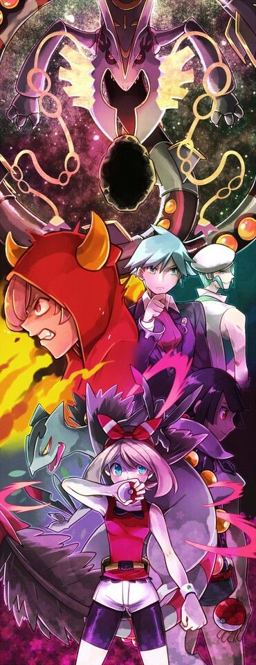Amazing Delta Episode artwork. This was such a cool story in ORAS