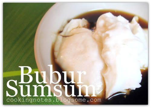 Bubur Sumsum (Indonesian Food) -- always reminds me of ramadhan...
