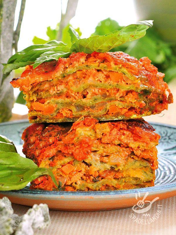 Se siete a caccia di ricette di primi di pasta al forno golosissimi, provate queste Lasagne verdi alla ricotta: sono facili e piacciono a tutti!