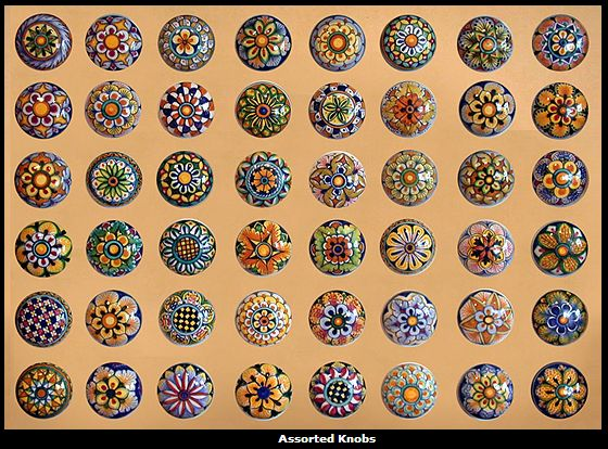 Ceramic Hand Painted Knobs The Blue Pottery Of India Is Famous Throughout The World For Its Quirky Cheerful By Fran On Indulgy Ladybug Knobs In Kitchen
