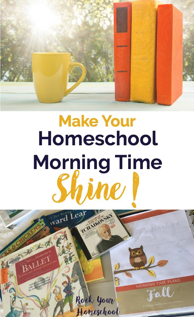 Homeschool Morning Time doesn't have to be a strug…