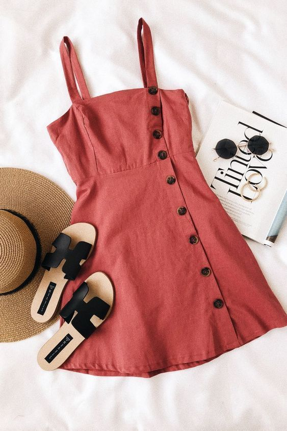Great Summer Outfit Ideas For Fashion Girls That Wear Only Flats #women'sfashionforsum…