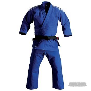 Adidas Judo Beginner's Gi - Blue Martial Arts Uniforms & Belts | Great Selection | Great Prices | Great Service - AWMA $79.95